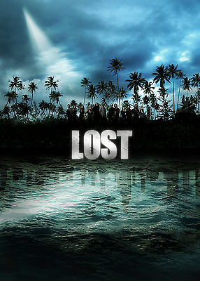 LOST TV Series Television JJ Abrams Poster