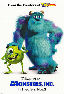 Monsters Inc. - Monstruos S.A. Movie Poster