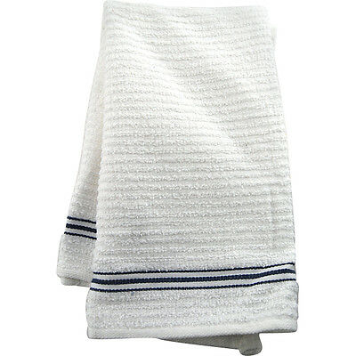 Multi-Purpose Ribbed Bar Towels - Set of 3 - Pub Beer Spill & Drip Clean Drying