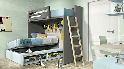 jugendzimmer vita 47 mit hochbett stauraumbett 15 farben ambiato de eur picclick de. Black Bedroom Furniture Sets. Home Design Ideas