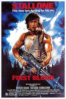 Rambo First Blood - Acorralado Movie Poster