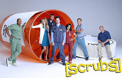 Scrubs TV Series Television Poster