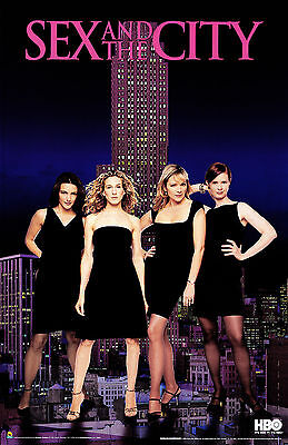 Sex And The City - Sexo en Nueva York TV Series Television Movie Poster