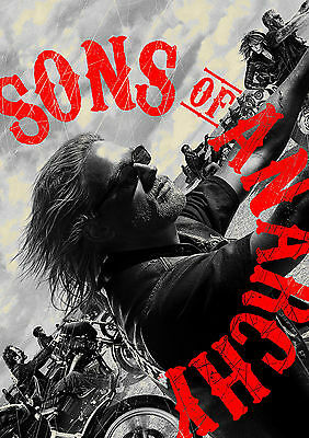 Sons of Anarchy TV Series Television Poster