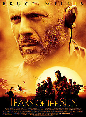 Tears Of The Sun - Lágrimas del sol Movie Poster
