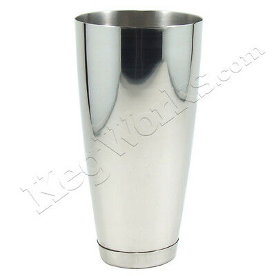 Cocktail Bar Shaker - Stainless Steel - 30 oz - Classic Bartend Pub Mixing Tools