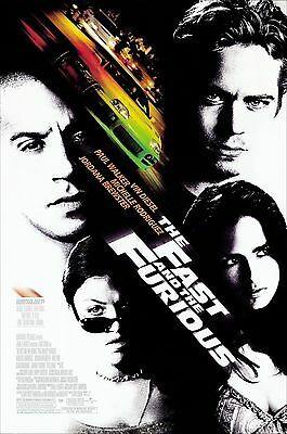 The Fast And The Furious - A todo gas Movie Poster