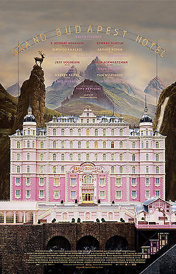 The Grand Budapest Hotel - El gran hotel Budapest Movie Poster
