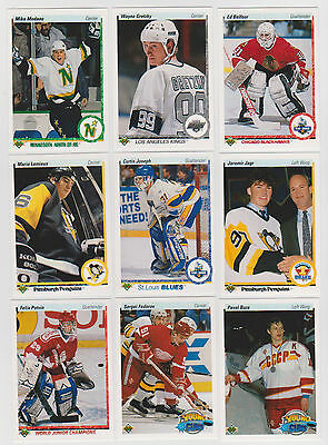 1990-91 Upper Deck Hockey Complete Set 1-550  Nhl Free Shipping