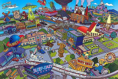 The Simpsons Tv Series Television Poster
