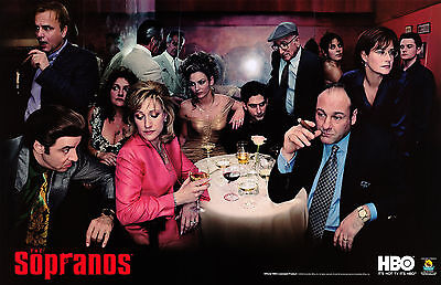 The Sopranos Tv Series Television Poster