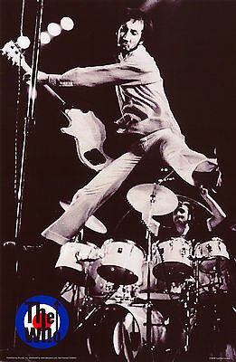 The Who Music Band Poster
