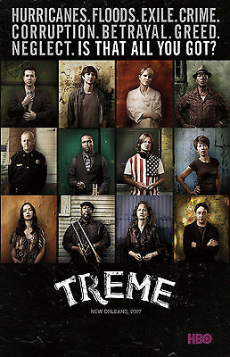 Treme TV Series Television Poster
