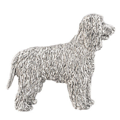 Irish Water Spaniel  Made in U.K  Artistic Style Dog Brooch Collection