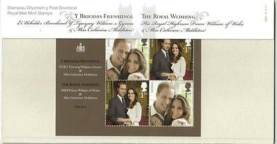 Gb 2011 The Royal Wedding Presentation Pack No M20