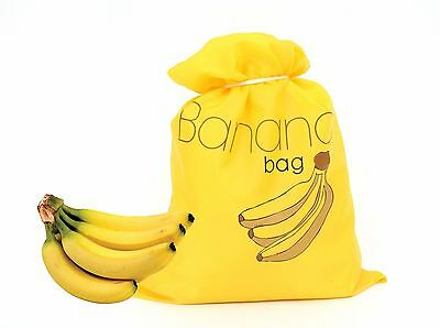 Banana Insulated Bag food storage Banana Bag Banana Storage Bag 290mm x 370mm
