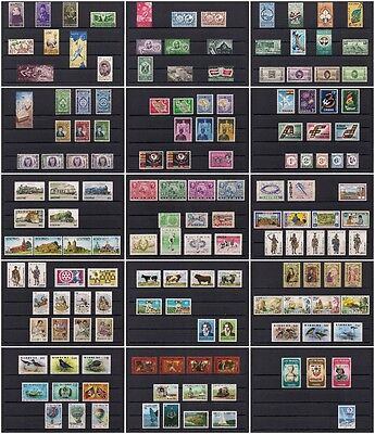 Amazing Collection of MNH Complete Sets from AFRICA & Island Nations