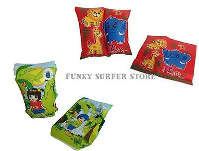 Childrens Kids Swimming Float Inflatable Armbands Swim Float Ages 3 - 12 Years