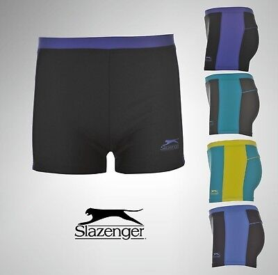 ff1b42a850 Boys Junior Slazenger Swimming Boxers Shorts Swimwear Trunks Size Age 7-13  Yrs