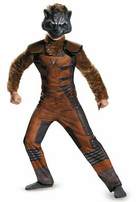 Child Marvel Comics Movie Guardians of the Galaxy Rocket Raccoon Deluxe Costume