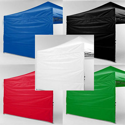 10x10 Pop Up Canopy Tent Straight Leg Canopy Sidewall Kit 2 Sidewalls WALLS ONLY