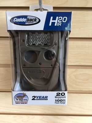 New Cuddeback H20 IR Long Range Infrared 20MP Game Trail Camera H-1453