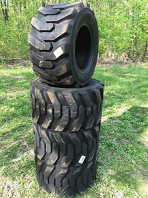 4-31X15.5-15 HD Skid Steer Tires-31X15.50-15 -Solideal Xtra wall-for Bobcat,etc