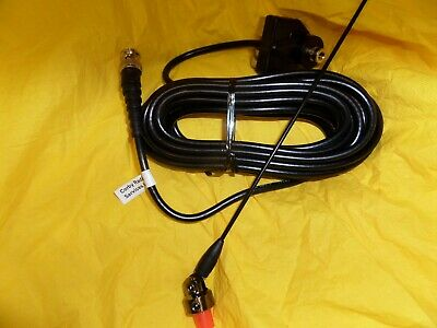 Panorama Gutter/boot Mount Bnc Taxi Antenna 162 - 174 Mhz Complete Cable Whip