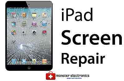 iPad Mini 3 CRACKED GLASS DIGITIZER TOUCH SCREEN REPAIR REPLACEMENT SERVICE