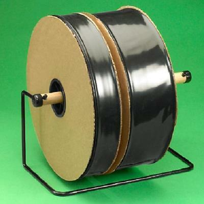"4 Mil Black Poly Tubing 8"" x 725' Single Roll"