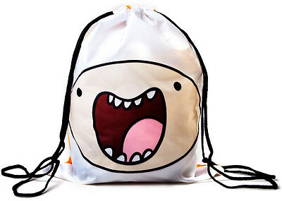 Adventure Time Reversible Finn Jake Gym Bag - Official School New