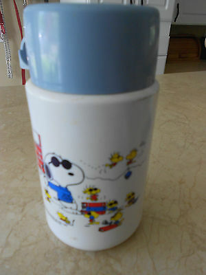 Vintage Collectible Peanuts Characters Snoopy 1958 1965 Thermos