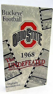 VHS - OHIO STATE Buckeye Football The Undefeated 1968 National Champions
