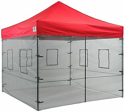 10x10 Pop Up Canopy Tent SIDEWALLS Food Service Vendor Sidewalls WALLS ONLY