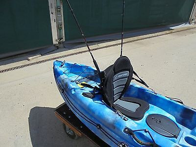 Deluxe Kayak Fishing seat to fit many sit on top kayak