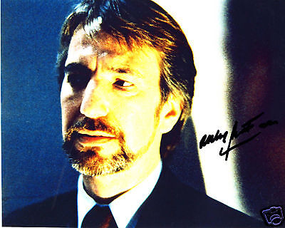 Alan Rickman Autograph Signed Pp Photo Poster