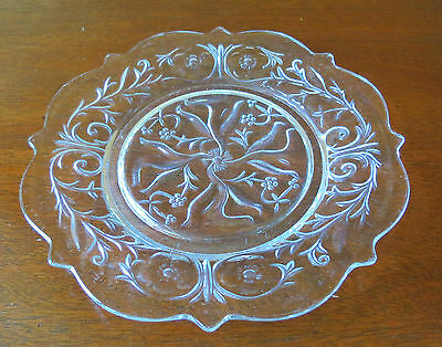 "McKee Rock Crystal Clear 8 ½"" Salad/Luncheon Plate(s)"