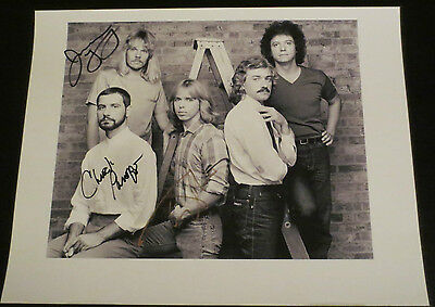 Styx band signed autographed photos Tommy Shaw Dennis DeYoung James Young ect