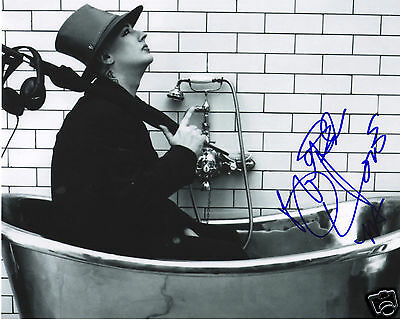 Boy George Autograph Signed Pp Photo Poster