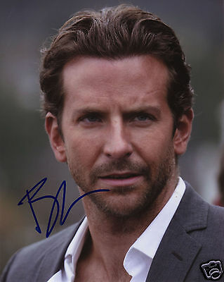 Bradley Cooper Autograph Signed Pp Photo Poster