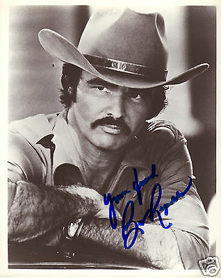 Burt Reynolds Autograph Signed Pp Photo Poster