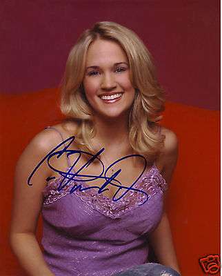 Carrie Underwood Autograph Signed Pp Photo Poster