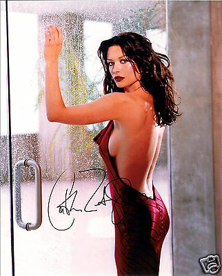 Catherine Zeta Jones Autograph Signed Pp Photo Poster