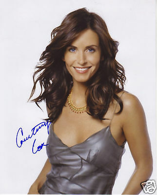 Courteney Cox Autograph Signed Pp Photo Poster