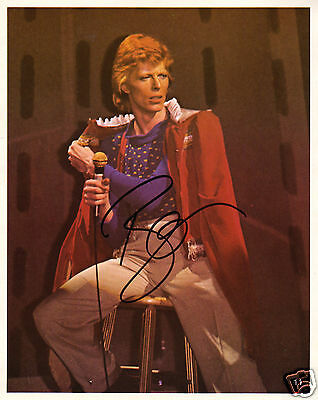 David Bowie Autograph Signed Pp Photo Poster 1