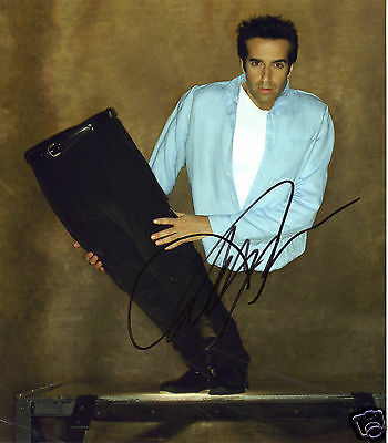 David Copperfield Autograph Signed Pp Photo Poster