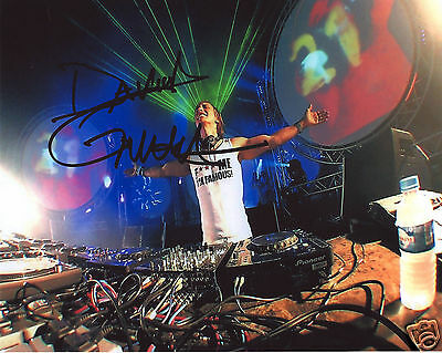 David Guetta Autograph Signed Pp Photo Poster
