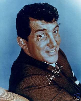 Dean Martin Autograph Signed Pp Photo Poster 4