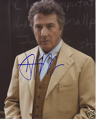 Dustin Hoffman Autograph Signed Pp Photo Poster