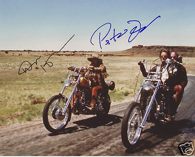 Easy Rider Cast Autograph Signed Pp Photo Poster 1